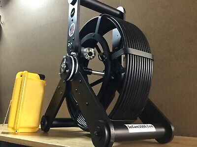 Recordable Sewer Camera For Pipe And Duct Video Inspections Pushrod Length 100ft