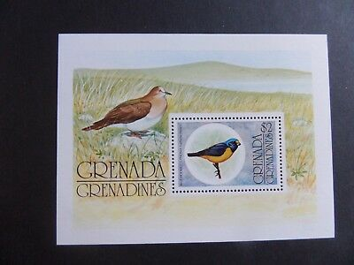 Grenada Grenadines 1976 Flora Fauna birds MS MS154 MNH UM unmounted mint