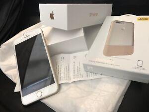 iPhone 7 Plus 256GB Rose Gold Unlocked - Like new + sealed case