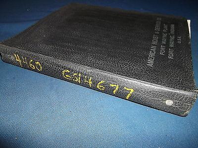American Hoist 4460 Truck Crane Parts Book Manual