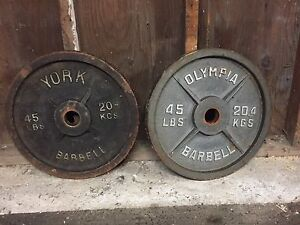 2x  50 lb weight plates  $80 obo