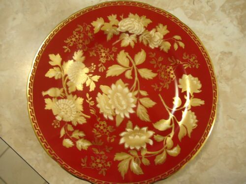 """Wedgwood Tonquin Ruby 8 1/4"""" Salad Plate"""