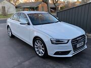 2013 AUDI A4 2.0 TFSI QUATTRO Canberra City North Canberra Preview