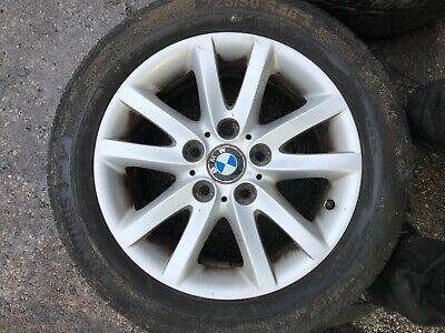 """2005 BMW 320D E46 TOURING ESTATE 16"""" SPIDER SPOKE 136 ALLOY WHEEL & TYRE"""