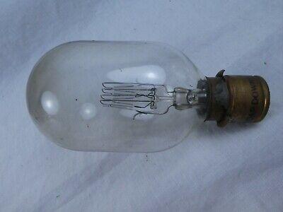 Osram GEC Patent Capdown 230V 500W Vintage / Antique Filament Light Bulb. Prop