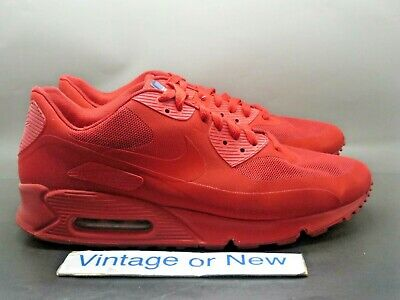 Nike Air Max 90 Hyperfuse USA Independence Day Running Shoes 613841-660 sz