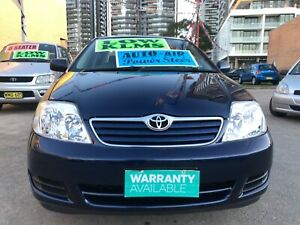 2005 Toyota Corolla ASCENT Automatic Sedan Low klms LIKE NEW !!! Granville Parramatta Area Preview