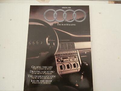 Audi magazines 1988 & 1990.S2 Coupe.1978 Quattro driven.100-200