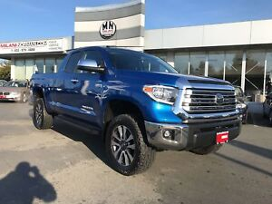 "2018 Toyota Tundra Limited 4WD 5.7L Loaded Leveled Lifted 33"" Ni"