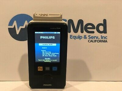 Philips Intellivue Mx40 - Wl2 Wearable Touch Screen Telemetry Ecg - Used - As Is