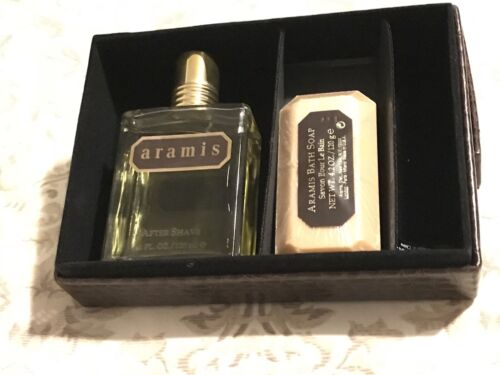 Aramis By Aramis After Shave 4.1 Oz And Vintage 4.25 0z Aramis Bath Soap - $72.00