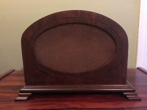 Antique radio speaker. Deco