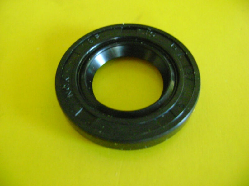 NEW TC 15X27X5 DOUBLE LIPS METRIC OIL / DUST SEAL WITH GARTER SPRING