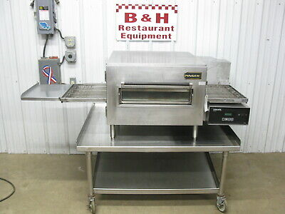 Lincoln Impinger Natural Gas 1116 Conveyor Pizza Oven W Stainless Steel Stand