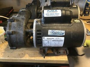 GE commercial 2 Speed Spa Pumps (2) 6HP/ 230V / 12 Amp