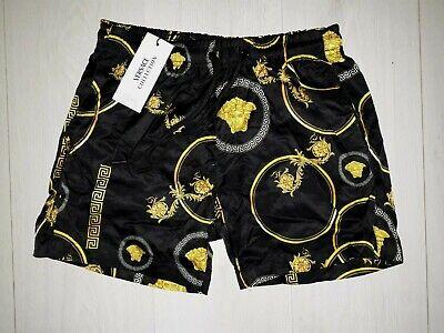 Versace Swim Shorts Black Swimwear
