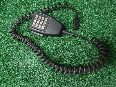 Ge Ericsson Orion M7100 Mobile Radio 800mhz Vhf Uhf Dtmf Back Lite Palm Mic