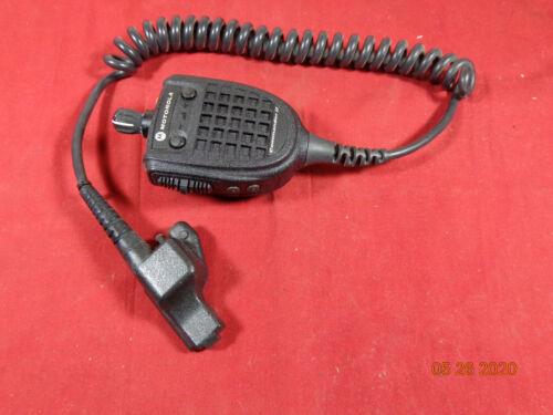 MOTOROLA RMN5089B XTS5000 VHF XTS3000 Radio Commander II speaker mic 3.5mm C74
