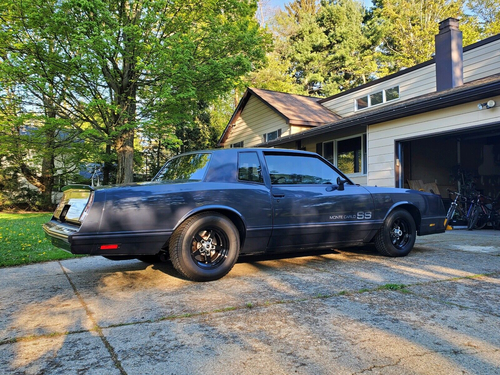 1984 Chevrolet Monte Carlo Coupe Blue RWD Automatic SS