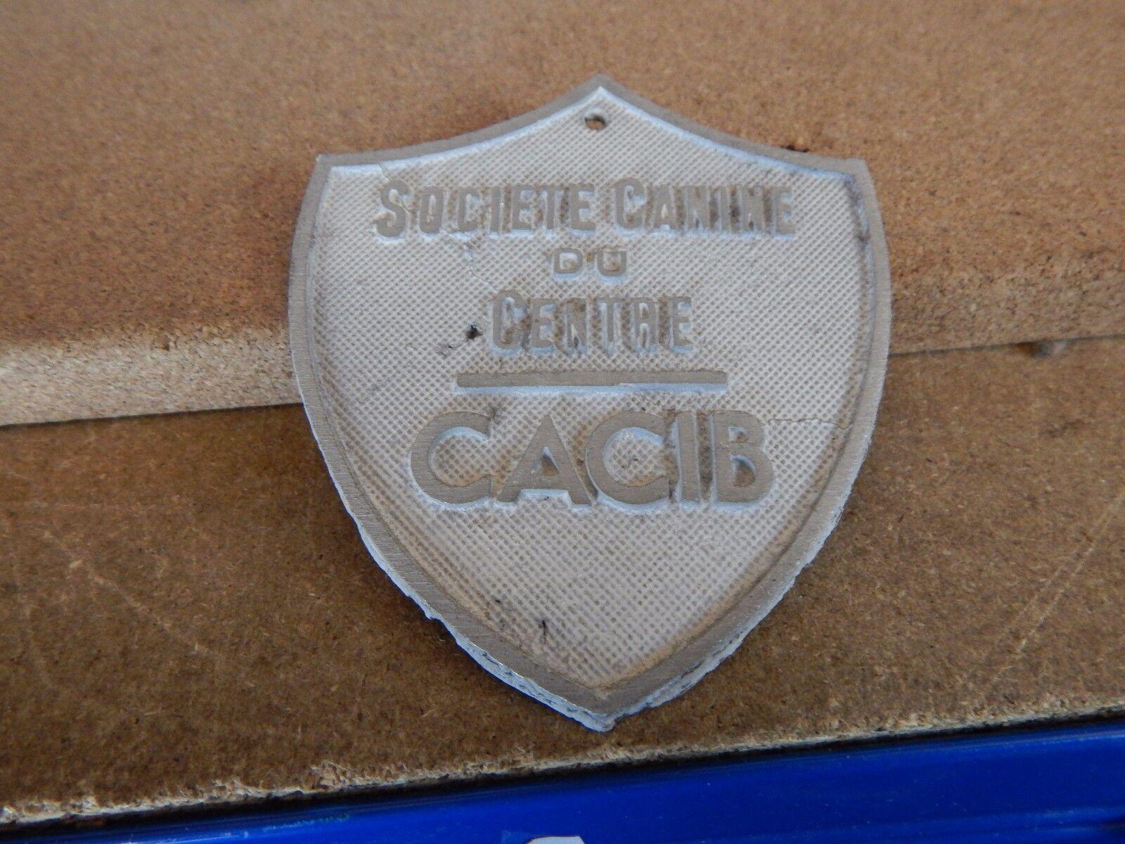 french society of canines du centre aluminium plaque picclick uk. Black Bedroom Furniture Sets. Home Design Ideas