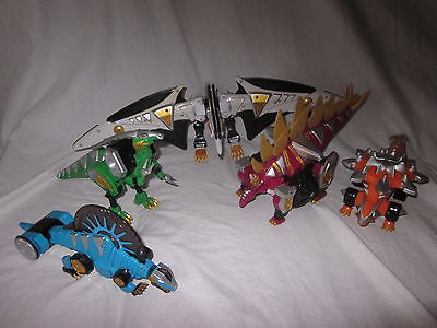 Power Rangers Wähle Deine Zord Figur Komplett Your Dino Megazord Dinosaurier ()