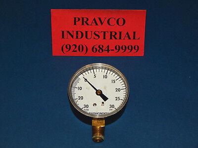 Ashcroft 436-13r Pressure Gauge 30psi 30in.hg Vac 14 .25 Npt 43613r