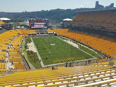 Pittsburgh Steelers vs Houston Texans - 2 seats together