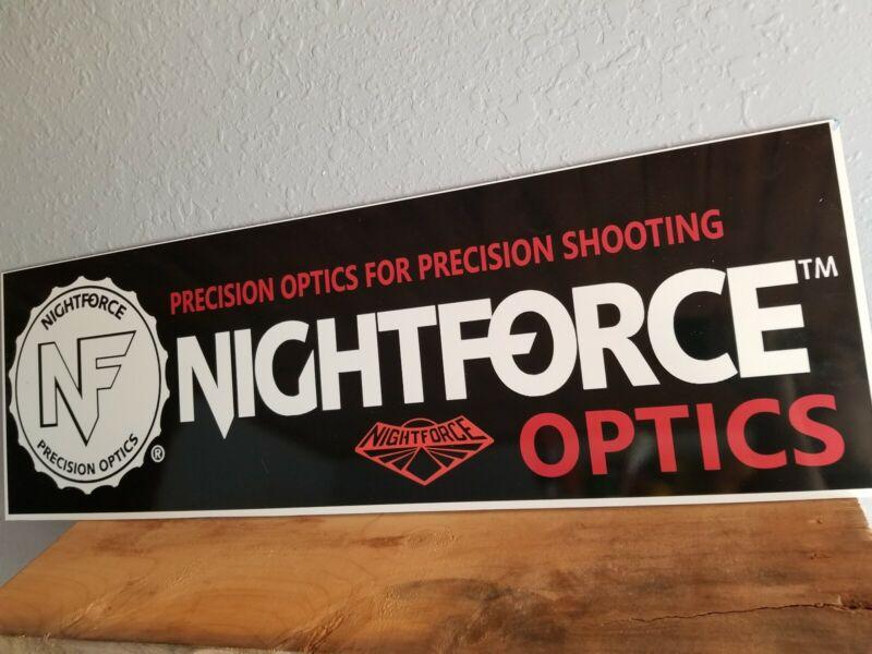 Nightforce OPTICS STORE sign DEALER DISPLAY