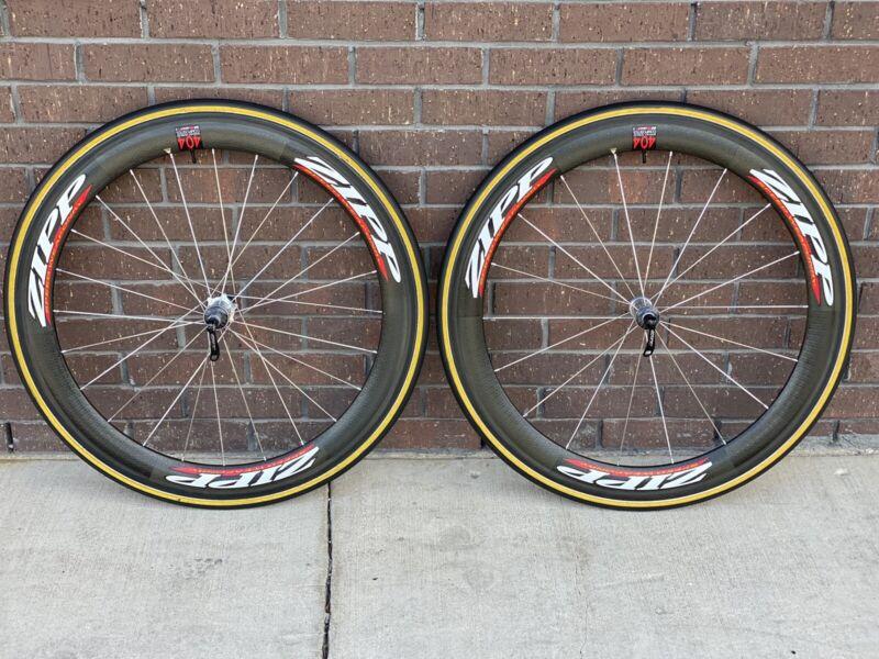 zipp 404 tubular wheelset campy