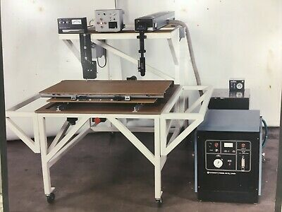 50 Watt Co2 Coherent Model 42 Industrial Laser With A Coolflow Hx-75