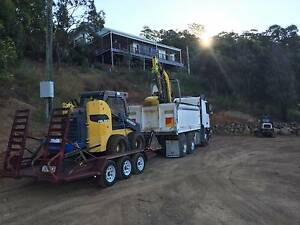 Bobcat dry hire DIY 3.5 ton big machine bulk work $300 day Ninderry Maroochydore Area Preview