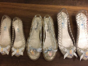 Disney Princess Cinderella Glass Light up slippers/shoes