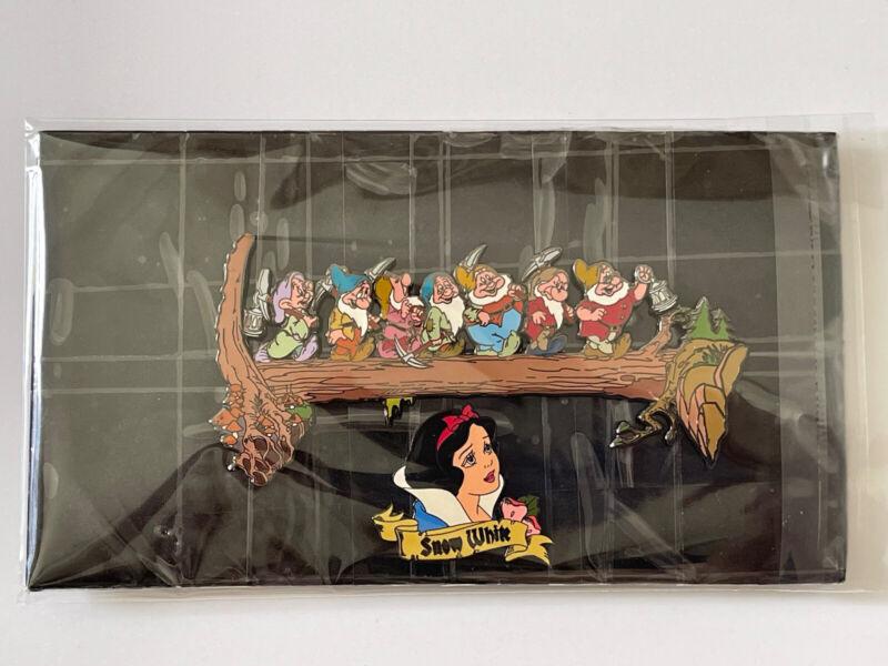 Disney DLR HTF Snow White Seven Dwarfs Mining 2 Pin Set