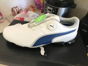 NEW PUMA TITAN TOUR IGNITE DISC BOA MENS GOLF SHOES US10 UK9