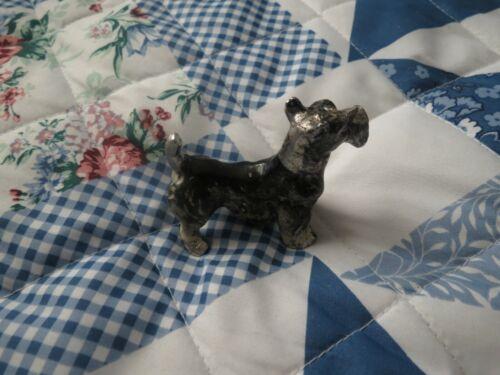 Scottish Terrier Dog Pewter Figurine