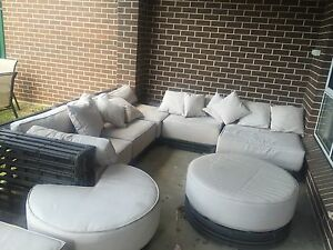 Quality Wicker outdoor lounge Bankstown Bankstown Area Preview