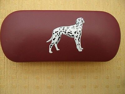 Dalmatian Spotty dog  brand new Metal Glasses Case ideal gift for Christmas