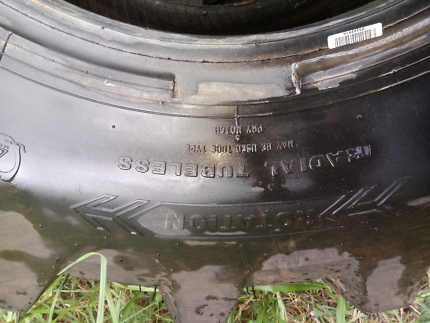 2 brand new tractor tyres