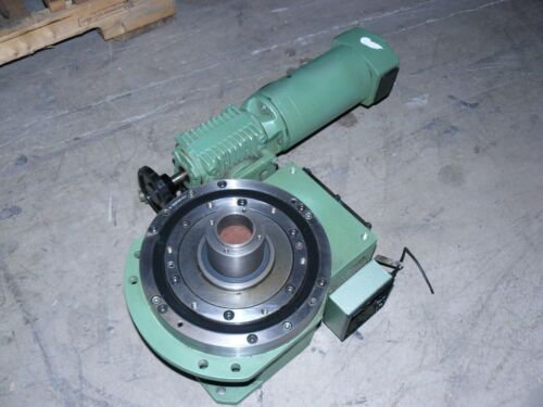Manifold Indexing SX-60 8-270 Rotary Indexer Positioner w/ Lenze 43.610.52.0.2.5