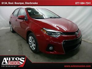 2014 Toyota Corolla S + SHIFT PADDLE + BLUETOOTH + CAMÉRA DE REC