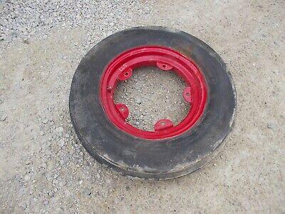 Oliver Super 77 Tractor Orignal Front Rim Harvest King 6.00 X 16 90 Trd Tire