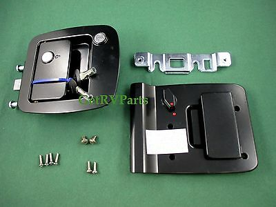 RV Trailer Motorhome 013-257 Entry Door Lock Replaces Trimark and Bargman L300