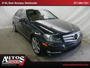 2012 Mercedes-Benz C-Class C350 4MATIC + GPS + TOIT + BLUETOOTH