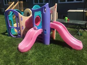 Step 2 climber and slide