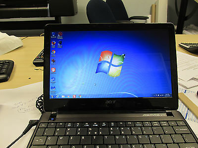 Acer Aspire One Ao722 4Gb Ram 11 6  320Gb Hdd Laptop Netbook C 60 1Ghz