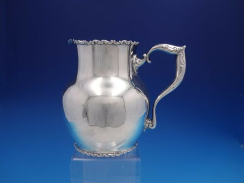 Louis XV by Whiting-Gorham Sterling Silver Water Pitcher Dated 1895 (#4185)