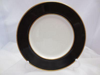 Mikasa Onyx (SET 12 Mikasa ONYX Bread Butter Plate A6700 Black Gold White Japan 6 5/8