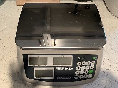 Mettler Toledo Scale Xrm. Serial Number 06089204cj. Used Excellent Condition.