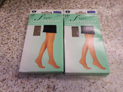 """Chic Smooth Knit One Size Mink 36//42/"""" Hips Tights"""