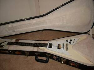 Gibson USA 1967 Reissue Flying V Electric Guitar + Hard case Centenary Heights Toowoomba City Preview